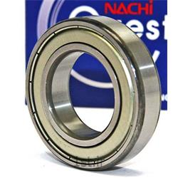 بلبرینگ شیار عمیق 6803 2Z ژاپن (NACHI)