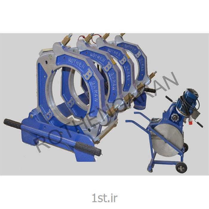 عکس دستگاه جوش پلاستیکدستگاه جوش پلی اتیلن هیدرولیک 315 میلیمتر