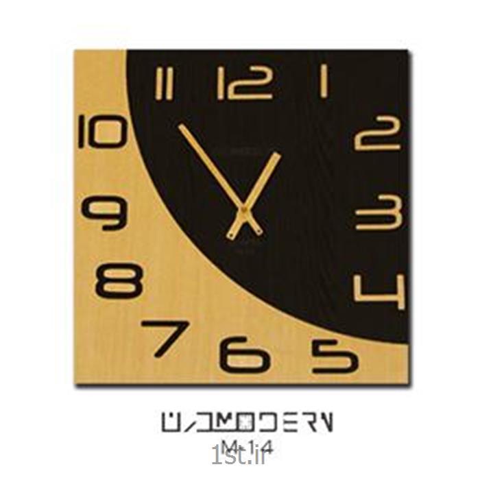ساعت دیواری فانتزی فرازمان راش و ونگه مدل 14