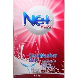 عکس مواد شوینده و پاک کنندهنمک ماشین ظرفشویی 1.2 کیلویی ، نت پلاس ، Netplus