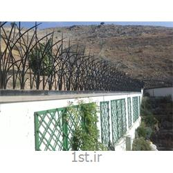 عکس خدمات امنیتیحفاظ دیوار جنس آهن