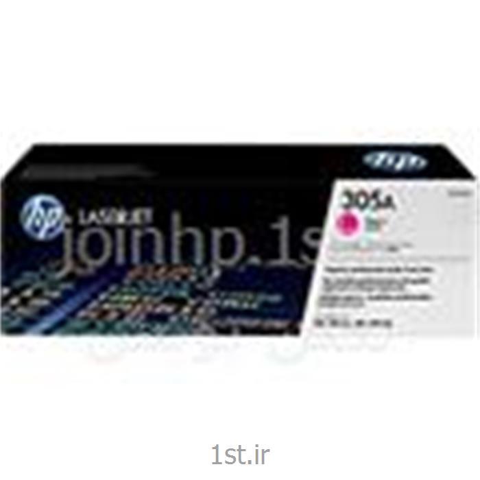 کارتریج طرح درجه یک قرمز ۳۰۵  ، HP 305A Magenta LaserJet Cartridge