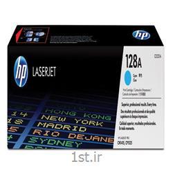 عکس کارتریج لیزریکارتریج طرح درجه یک آبی اچ پی  128 / hp 128A Cyan  LaserJet  Cartridge