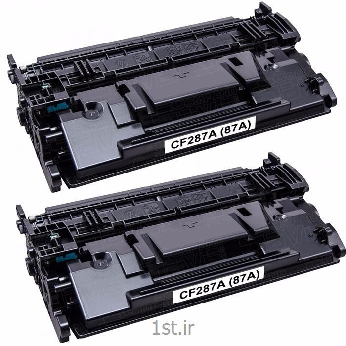 کارتریج طرح درجه یک مشکی اچ پی 87/hp 87A Black LaserJet Cartridge