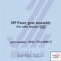 عکس لوازم پرینتر لیزریمجموعه چرخ دنده های فیوزینگ پرینتر رنگی Fuser gear assembly HP 5225