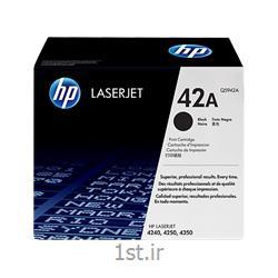 عکس تونر کارتریجکارتریج طرح درجه یک مشکی اچ پی 42/hp42A Black LaserJet Toner Cartridge