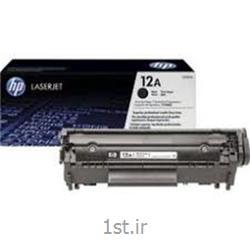 عکس تونر کارتریجکارتریج طرح درجه یک مشکی اچ پی 12/hp 12A Black LaserJet Cartridge