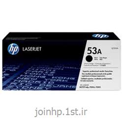 عکس تونر کارتریجکارتریج طرح درجه یک مشکی اچ پی 53 / hp 53A Black LaserJet  Cartridge