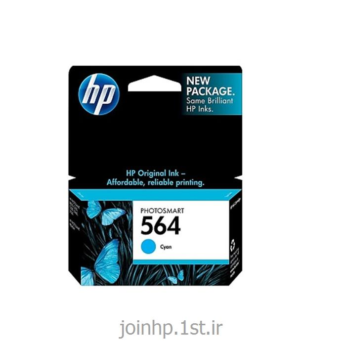 عکس جوهر کارتریجکارتریج آبی اچ پی HP 564