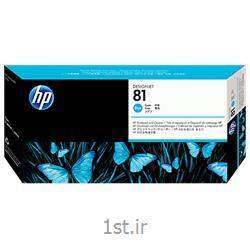 عکس هد چاپگر (پرینتر)هد آبی پلاتر اچ پی مدل HP 81 C4951A