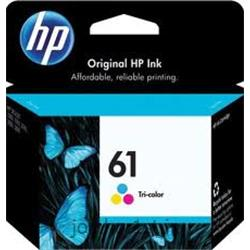 عکس جوهر کارتریجکارتریج رنگی اچ پی HP 61