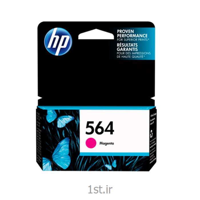 عکس جوهر کارتریجکارتریج قرمز اچ پی HP 564