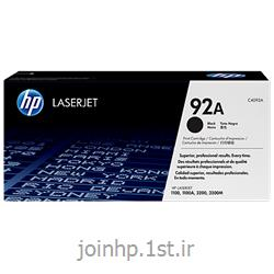 عکس تونر کارتریجکارتریج طرح درجه یک مشکی اچ پی 92/hp92A Black LaserJet Toner Cartridge