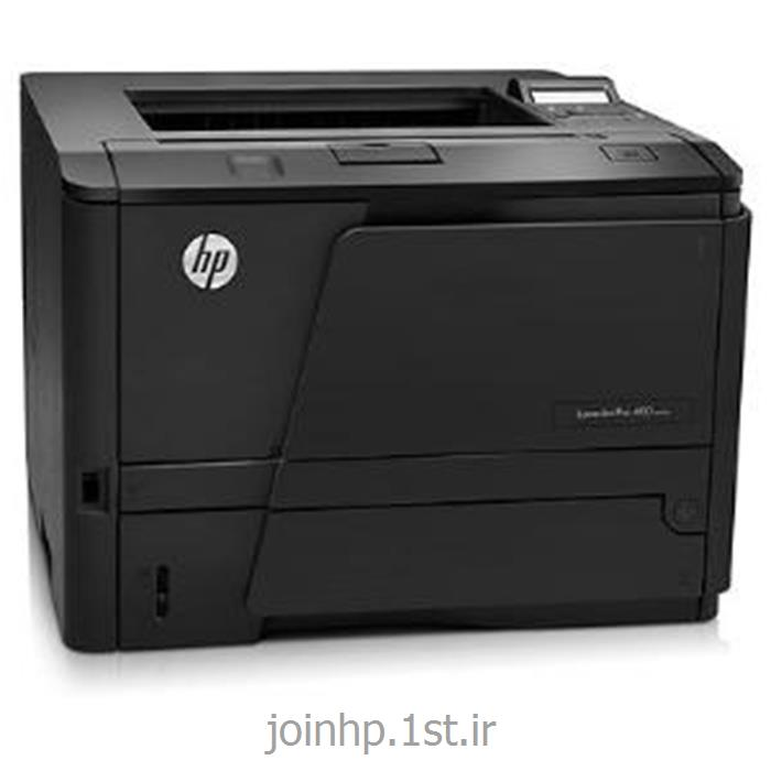 عکس چاپگر (پرینتر)پرینتر لیزری سیاه و سفید تک کاره اچ پی HP LaserJet Pro 400 Printer M401a