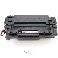 عکس تونر کارتریجکارتریج طرح درجه یک مشکی اچ پی 51/hp51A Black LaserJet Toner Cartridge