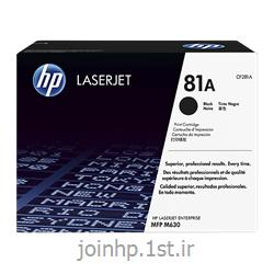 عکس تونر کارتریجکارتریج طرح درجه یک مشکی اچ پی 81/hp81A Black LaserJet Toner Cartridge