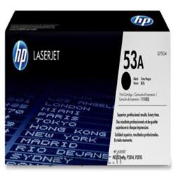 کارتریج اورجینال hp 53A مشکی ,  hp 53A Black Original Cartridge Toner
