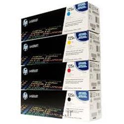 کارتریج طرح درجه یک آبی اچ پی 125/hp125A Cyan LaserJet Toner Cartridge