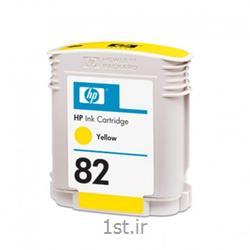 کارتریج جوهرافشان 82 اچ پی زرد اورجینال hp 82 Yellow Ink Cartridge