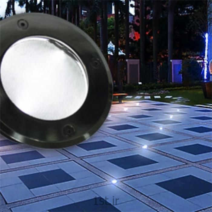 عکس سایر چراغ ها و محصولات مرتبط با روشناییچراغ خورشیدی دفنی مدل isun 08