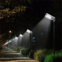 عکس سایر چراغ ها و محصولات مرتبط با روشناییچراغ خورشیدی خیابانی مدل isun 02