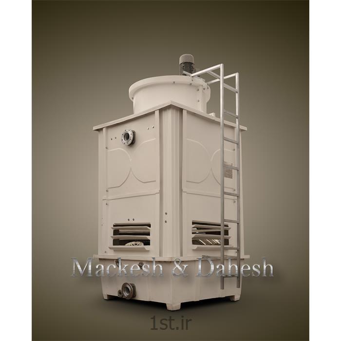 عکس برج خنک کنندهبرج خنک کننده فایبرگلاس مدور
