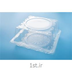 عکس فرآوری پلاستیکباکس کیک بلند