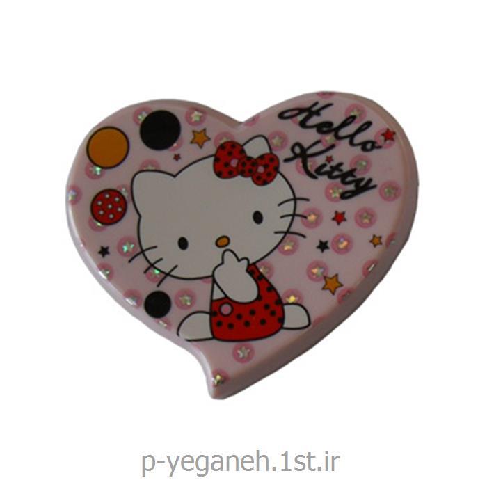 عکس آینه آرایشآینه جیبی قلبی اچ ای 732