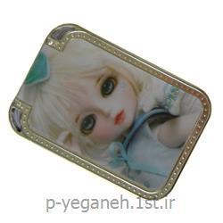 عکس آینه آرایشآینه چشمکی آبکاری شده HE-714