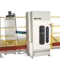 عکس ماشین آلات تولید شیشهدستگاه سندبلاست شیشه
