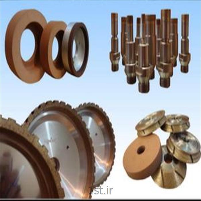 عکس قطعات ماشین آلات تولید محصولات شیشه ایسنگ ابزار و تراش شیشه