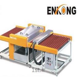 عکس ماشین آلات تولید شیشهدستگاه شستشو شیشه