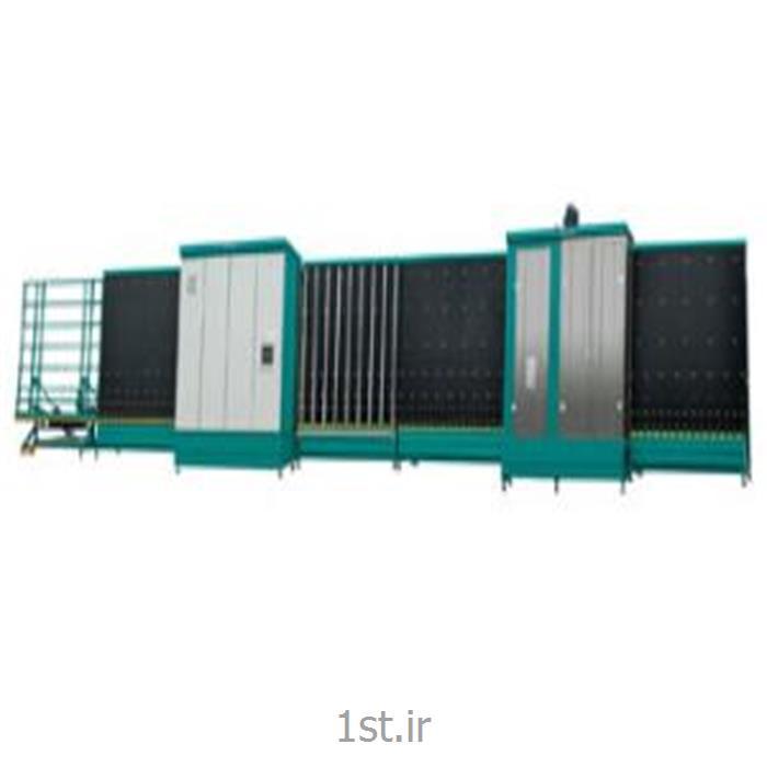 دستگاه شستشو و پرس اتوماتیک شیشه دوجداره سایز 2200