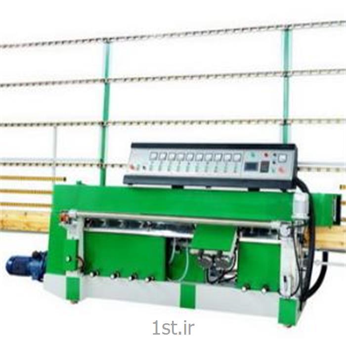 عکس ماشین آلات تولید شیشهدستگاه دیاموند لبه زن شیشه