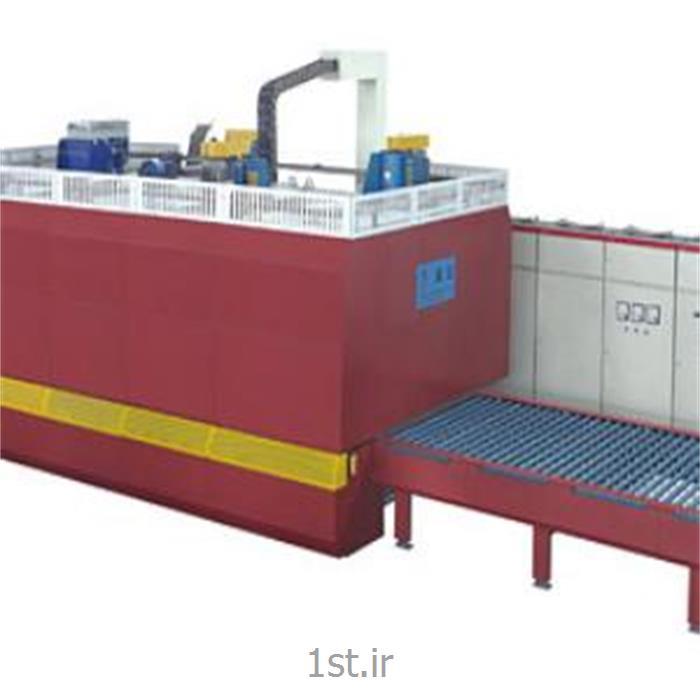عکس ماشین آلات تولید شیشهکوره سکوریت خم و تخت شیشه