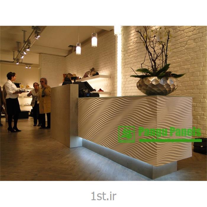 پارتیشن دیوار پوش طرحدار دکوراسیون داخلی آرک پنل طراحی lucca