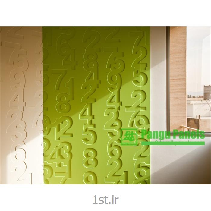 پارتیشن دیوار پوش طرحدار دکوراسیون داخلی آرک پنل طراحی numbers