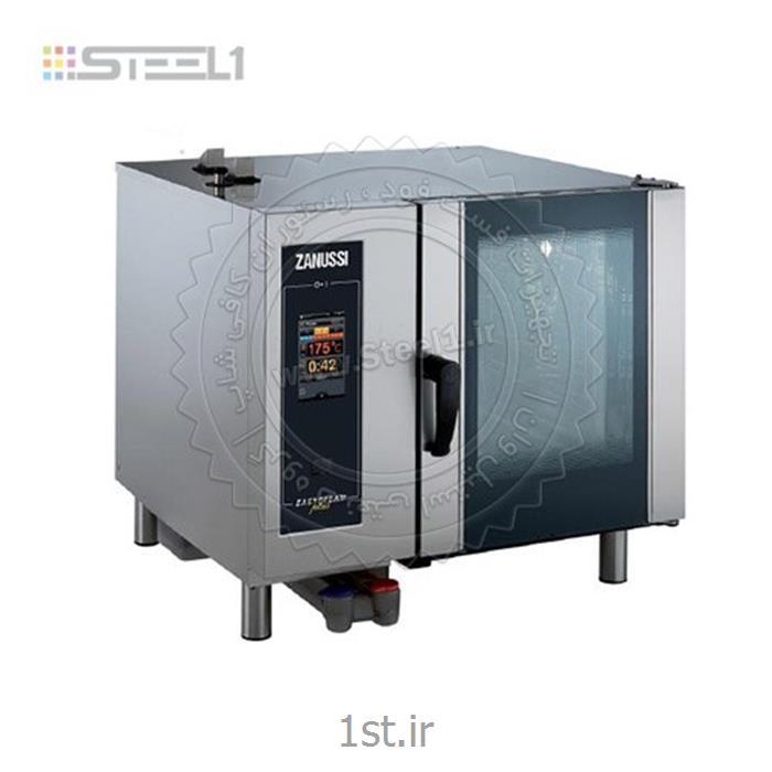 عکس سایر تجهیزات هتل و رستورانفر کانوکشن زانوسی ۶ سینی-Combi oven Zanussi Professional