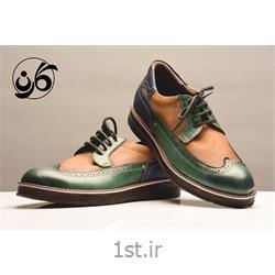 کفش مردانه مجلسی شیک تمام چرم مدل 519