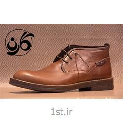 کفش نیم بوت مردانه تمام چرم مدل 537