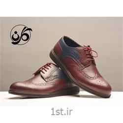 کفش مردانه مجلسی  شیک تمام چرم مدل 523