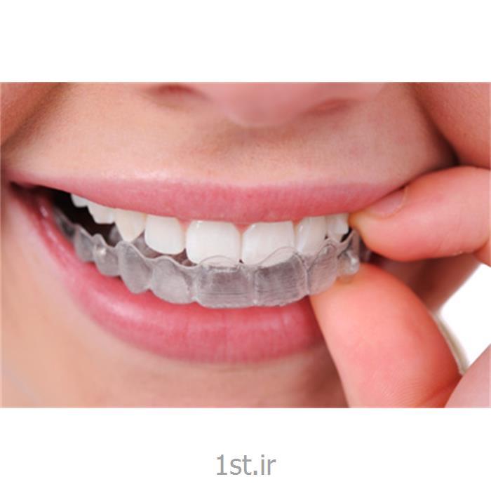 عکس خدمات درمانی دندانپزشکیارتودنسی متحرک اینویزالاین با پلاک های شفاف / دندانپزشکی مروارید
