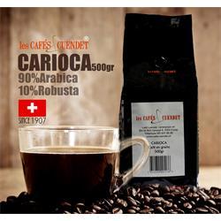 دانه قهوه نیم  کیلویی CARIOCA