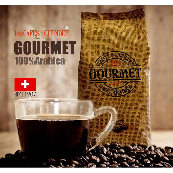 دانه قهوه یک کیلویی GOURMET