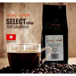 دانه قهوه نیم  کیلویی SELECT