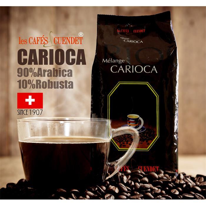 دانه قهوه یک کیلویی CARIOCA
