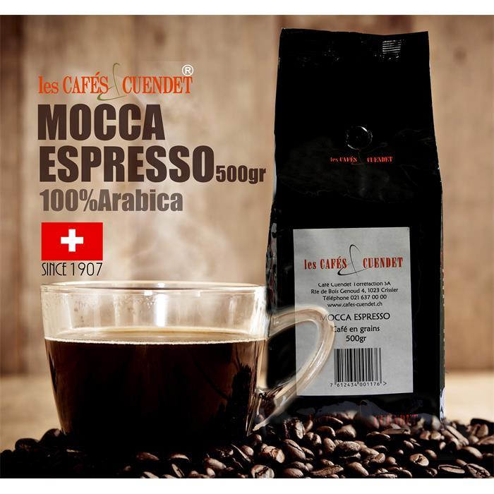دانه قهوه نیم  کیلویی MOCCA ESPRESSO