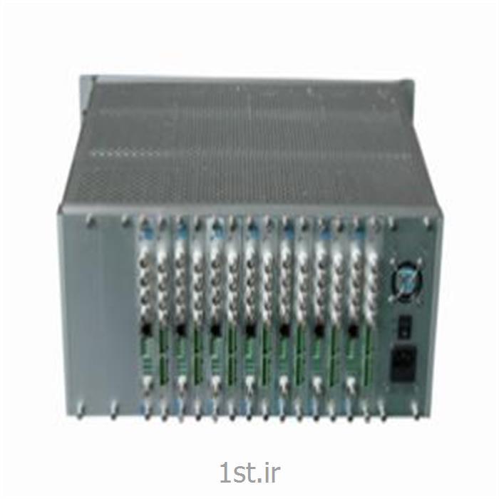 مبدل فیبر نوری 64 کانال ویدیو و صدا و دیتا SAE-64V1D8A8E