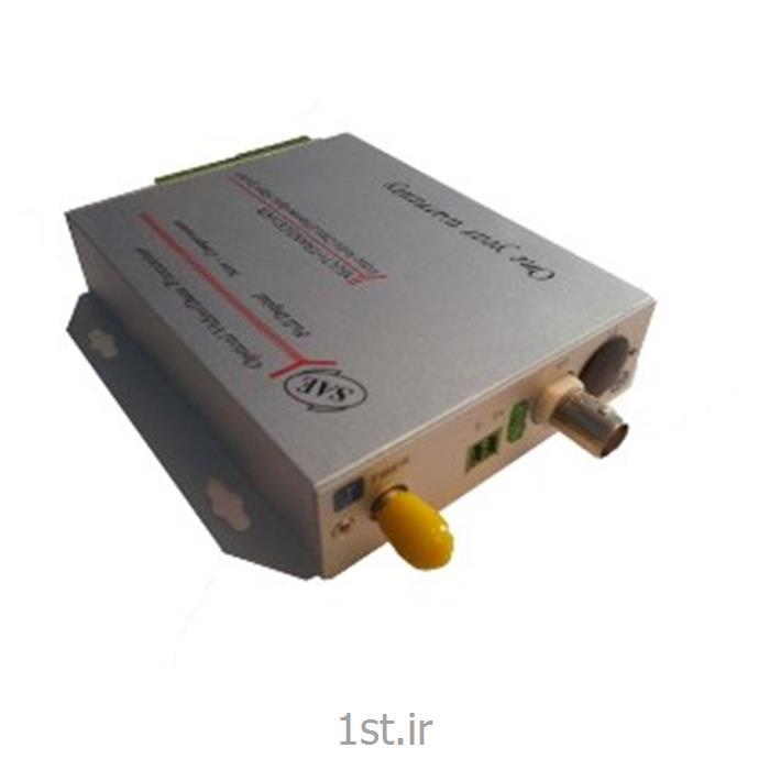 مبدل فیبر نوری 1 کانال ویدیو ، دیتا و صدا SAE-1V1bD1bA-S<