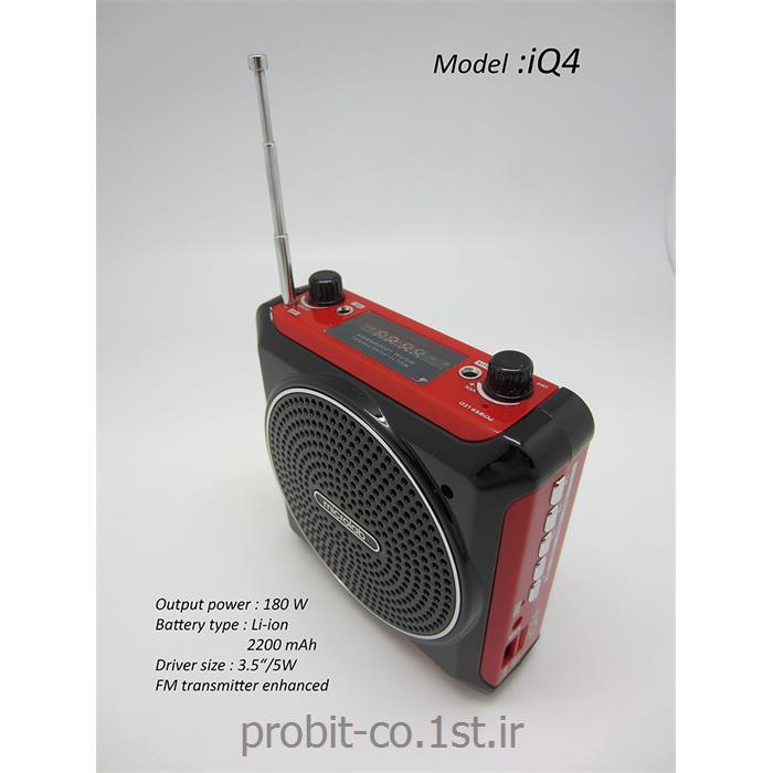 عکس باند و بلندگو (اسپیکر)اسپیکر میکرولب مدل iQ-4